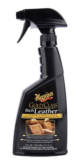 Limpiador Meguiars De Cuero Gold Class Rich Leather 450ml.