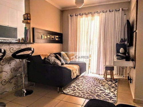 Imagem 1 de 13 de Apartamento Com 2 Dormitórios À Venda, 53 M² Por R$ 250.000,00 - São Bernardo - Campinas/sp - Ap7875