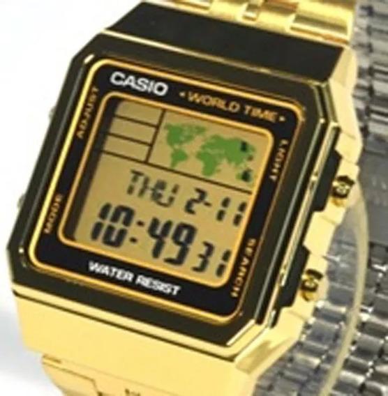 Relógio Casio Original Vintage Worldtime A500wga-1df Vitória