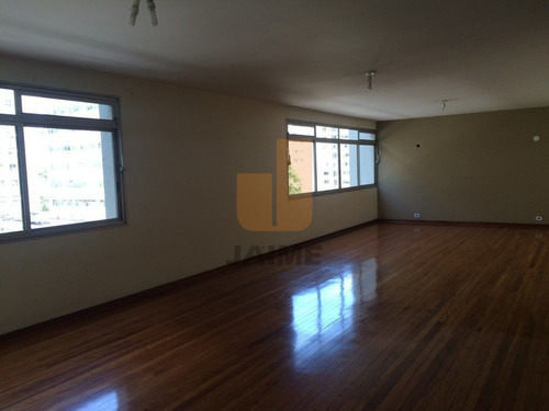 Apartamento Para Locação No Bairro Higienópolis Em São Paulo - Cod: Ja5525 - Ja5525