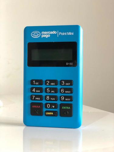 Imagem 1 de 5 de Máquina De Cartão Débito E Crédito Point Mini - Mercado Pago
