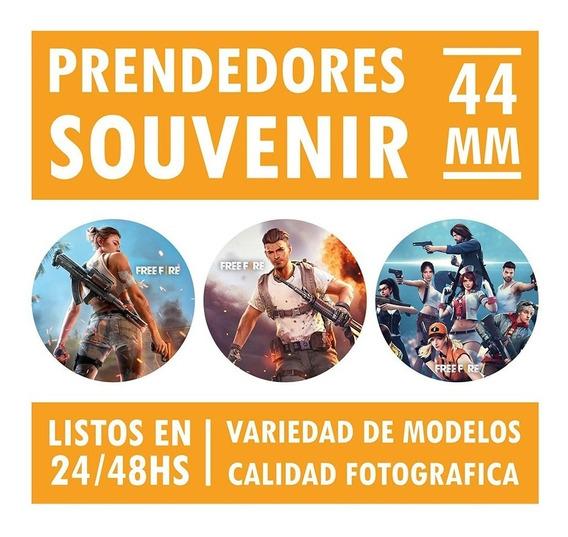 30 Prendedores Pins Souvenir Free Fire 44mm