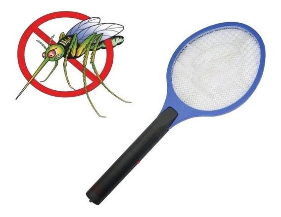 Raquete Mata Mosquitos À Pilha Full