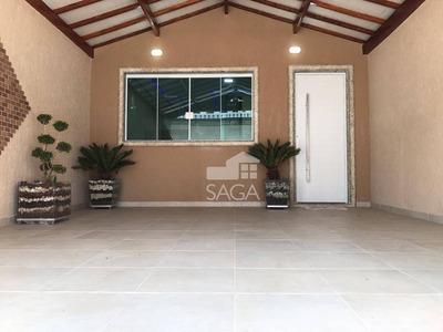 Perfeita !! Casa Com 2 Dormitórios À Venda, 102 M² Por R$ 349.000 - Balneário Maracanã - Praia Grande/sp - Ca0710