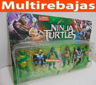Colección Las Tortugas Ninja