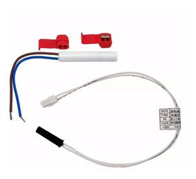 Kit Sensor + Fusível Geladeira Brastemp Bre49 Bre51 Bre80