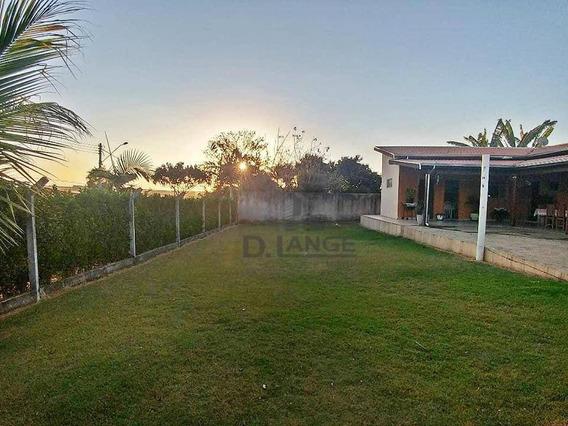 Chácara Com 2 Dormitórios À Venda, 1029 M² Por R$ 550.000 - Chacara Itália - Cosmópolis/sp - Ch0391