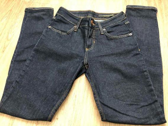 Calça Jeans Damyller Escura Num 36 Cintura Media Feminina