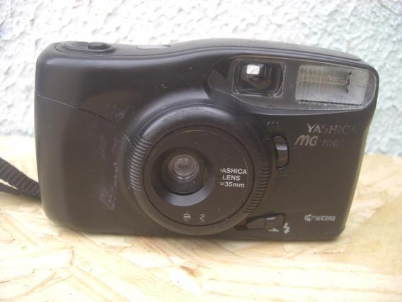 Câmera Máquina Fotográfica Yashica Mg-motor Não Funciona