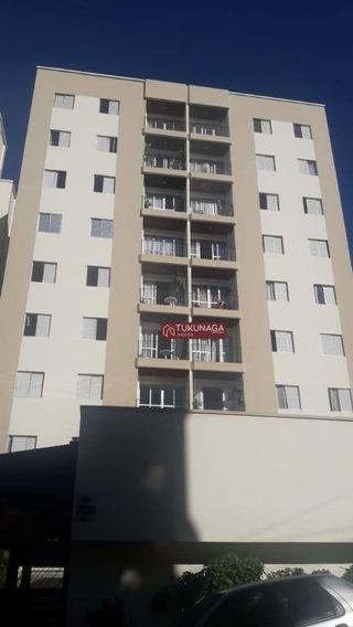 Apartamento Com 3 Dormitórios Para Alugar, 65 M² Por R$ 1.000,00/mês - Gopoúva - Guarulhos/sp - Ap4002