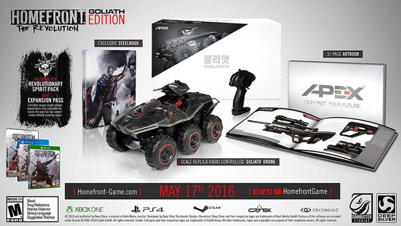 Homefront The Revolution Goliath Edition Xbox One