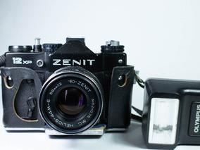 Câmera Zenit 12xp + Flash