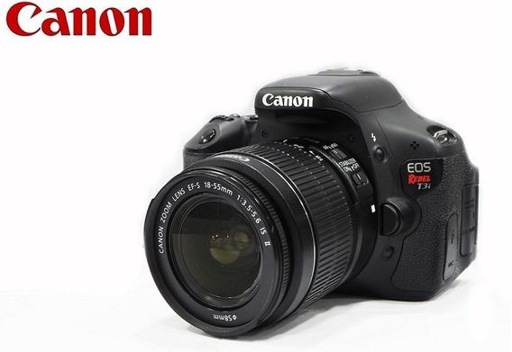 Canon Eos T3i 18mp Kit Lente 18-55mm