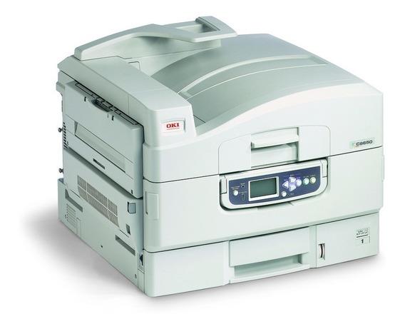 Impressora Color A3 Oki C9650 Com 78 Mil Copias