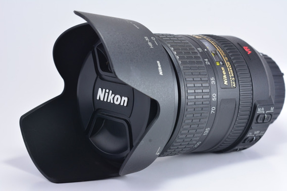 Nikon Af-s Dx Nikkor 18-200mm F/3.5-5.6 G If Ed Vr Seminova