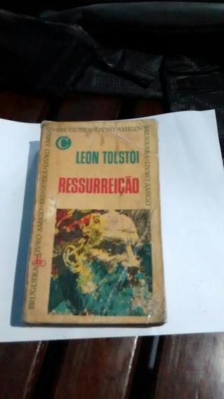 Raro Ressurreição Leon Tolstoi Livro Antigo +-40 Anos Raro.