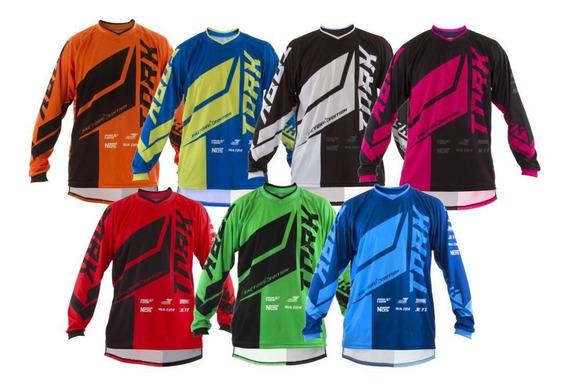 Camisa Factory Edition Pro Tork Motocross Enduro Trilha