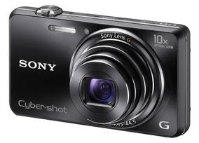 Câmera Digital Sony Cyber Shot Wx100 + Carregador + 8gb