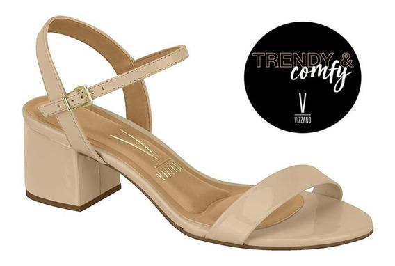 Sandália Salto Baixo Monobloco Vizzano Comfy&trendy 6291900