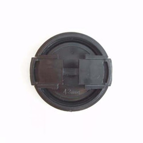Estalo Plástico 43 Mm Em Boné Lente Câmera Para Panasonic