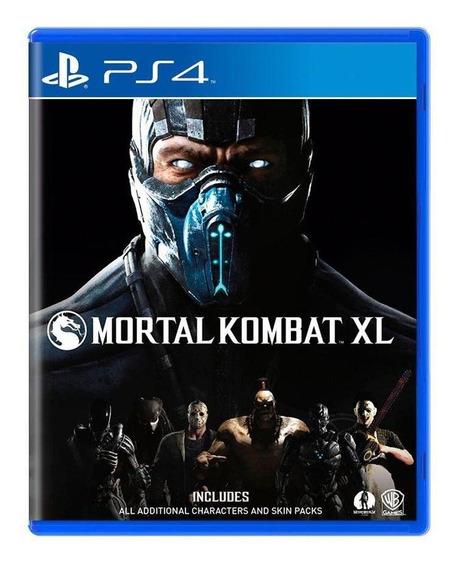 Mortal Kombat Xl Ps4 Mídia Física Pronta Entrega