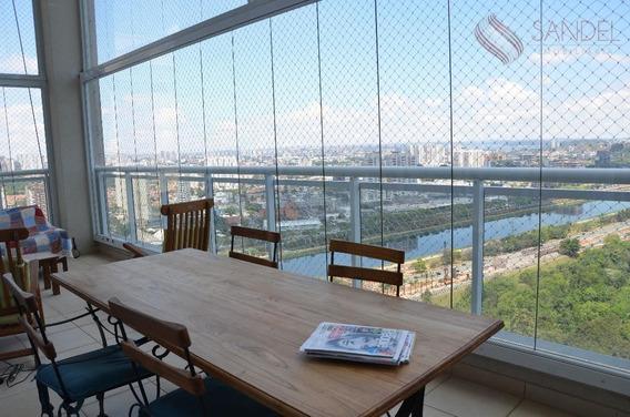 Lindo Apto Panamby C/ Vista Para O Parque Burle Marx, 300m², 4 Suítes, 5 Vagas (l) - Ap0304