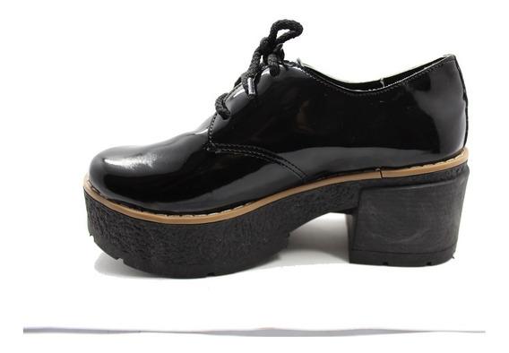 Zapato De Mujer Charol Talles Grandes 35 Al 44