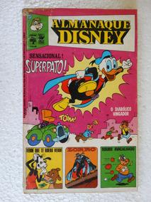 Almanaque Disney Nº 27! Editora Abril Agosto 1973!