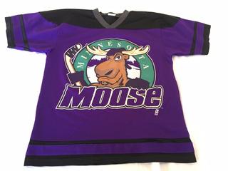 Camiseta Nhl Usa,minnesota Moose, Talle Xl 10/12 Años