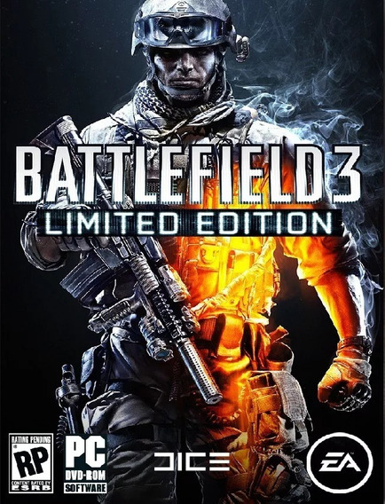 Battlefield 3 Limited Edition Pc -100% Original (origin Key)