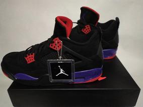 Tenis Jordan 4 Retro Raptors Ovo X Drake Nuevos Y Originales