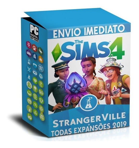 The Sims 4 Todas As Expansões Pc Digital Completo 2020