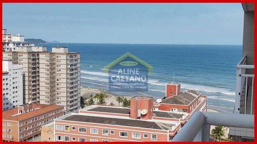 Imagem 1 de 30 de Apartamento Com 3 Dorms, Ocian, Praia Grande - R$ 380 Mil, Cod: Act1356 - Vact1356