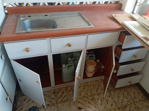 Mueble Con Fregadero, De Cocina