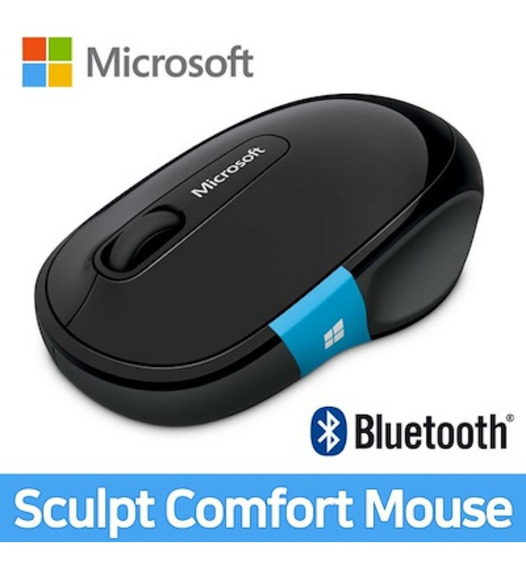 Mouse Sculpt Comfort Wireless Sem Fio Bluetooth Microsoft H3s-00009 Preto Novo Lacrado