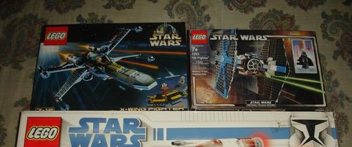 2 X Lego Star Wars Las 2 Cajas De Arriba