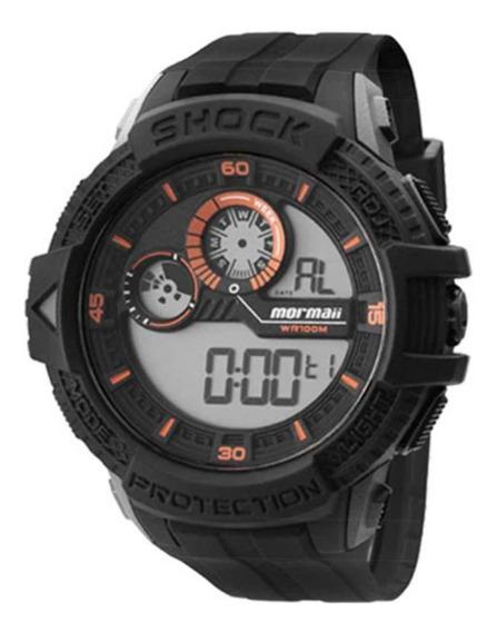 Relógio Mormaii Digital Masculino Mo3900/8l Esportivo + Nf