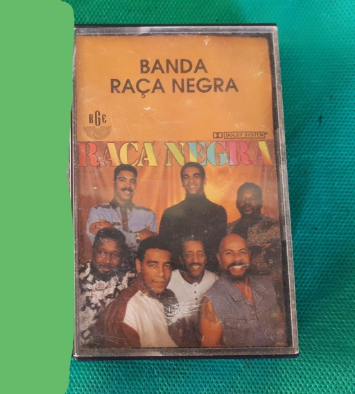 Fita K7 Banda Raça Negra Musica