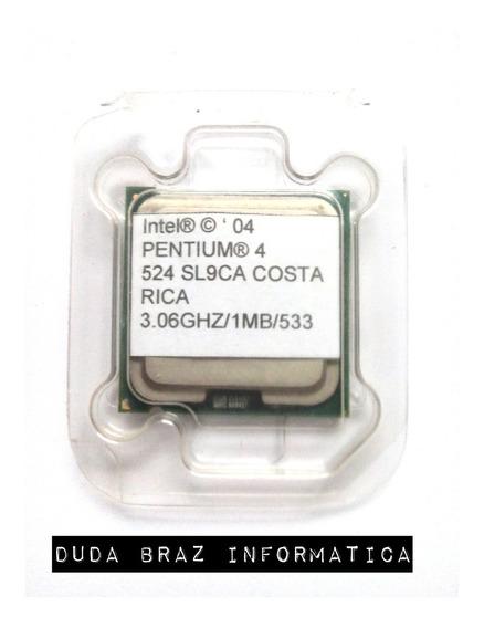 Processador Intel Pentium 4 3.06ghz/1mb/533