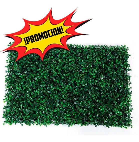 10 Piezas Follaje Artificial Pared Verde !!!promocion!!!