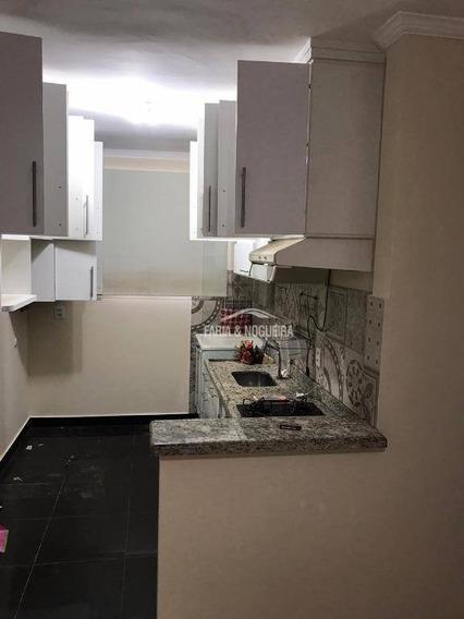 Apartamento Com 2 Dormitórios À Venda E Locação, 48 M² Por R$ 180.000 - R$ 800,00, Rainha Bianca, Jardim Itapuã - Rio Claro/sp - Ap0391