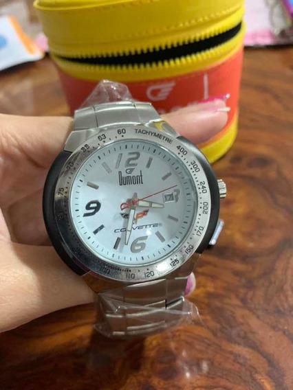 Relógio Dumont Corvette Novo