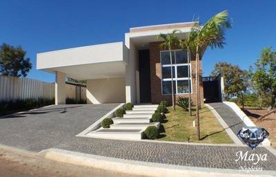 Casa 3 Suítes, 215 M² No Condomínio Mirante Do Lago - 364