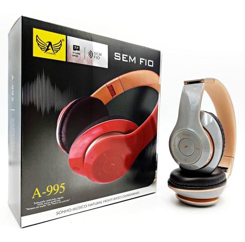 Imagem 1 de 4 de Headfone Estéreo Sem Fio Excelente Som E Acabamento