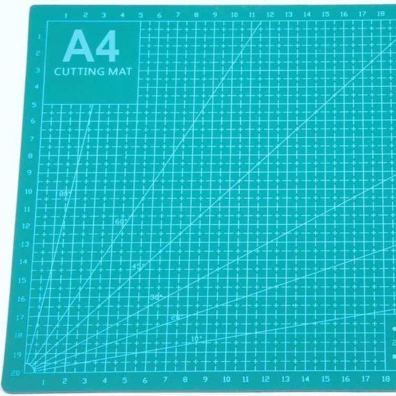 Tabla De Corte A4 Para Manualidades En Verde