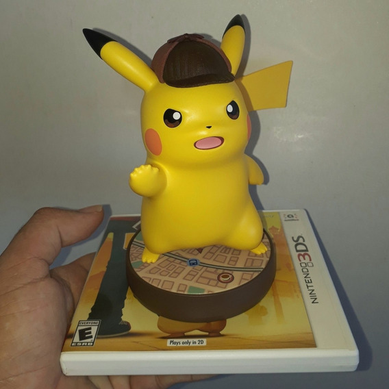 Amiibo Detective Pikachu + Jogo 3ds