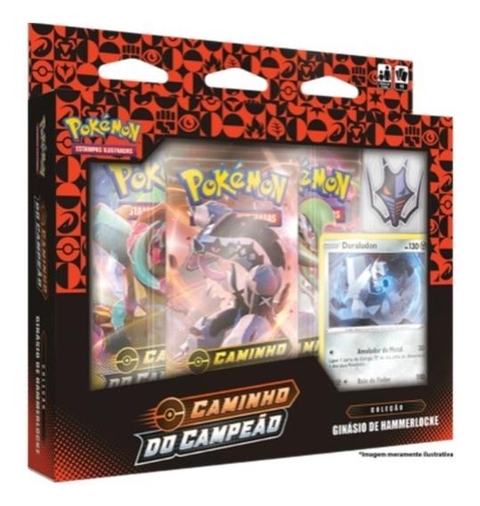Box Pokémon Caminho Do Campeão Ginásio De Hammerlocke Copag