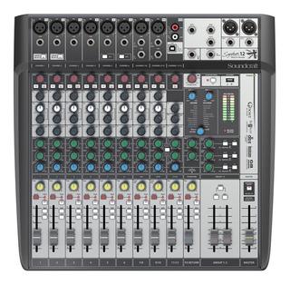 Soundcraft Signature 12 Mtk Multitrack Consola 12 Canales