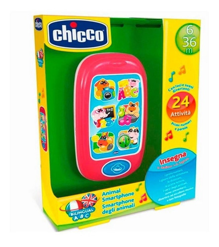 Imagen 1 de 2 de Chicco Smartphone Bilingue 7853