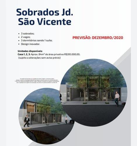Sobrado Para Venda Em São Paulo, Jardim São Vicente, 3 Dormitórios, 1 Suíte, 1 Banheiro, 2 Vagas - V120_2-1111135
